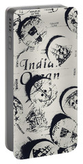 Old East India Trading Routes Portable Battery Charger