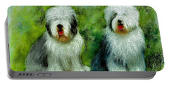 Old English Sheepdog Portable Battery Charger