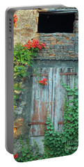 Old Farm Door Portable Battery Charger
