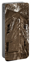 Old Farmhouse In Summertime Portable Battery Charger
