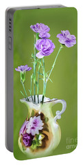 Old Fashioned Bouquet Portable Battery Charger