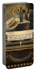Old Fashioned Morals Portable Battery Charger