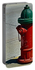 Old Fire Hydrant Portable Battery Charger