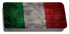 Old Flag Of Italy Portable Battery Charger