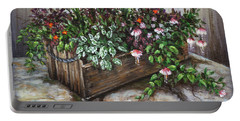 Old Flower Box Portable Battery Charger