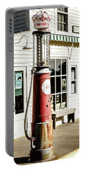 Portable Battery Charger featuring the photograph Old Fuel Pump by Alexey Stiop