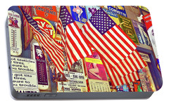 Portable Battery Charger featuring the photograph Old Glory by Joan Reese