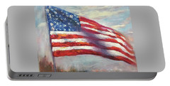 Old Glory Vi Portable Battery Charger