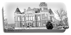 Portable Battery Charger featuring the digital art Old Hickman Ky Court House Digital Drawing  by Bonnie Willis