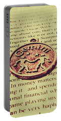 Old Horoscope Of Gemini Portable Battery Charger
