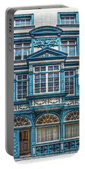 Portable Battery Charger featuring the digital art Old Irish Architecture by Hanny Heim
