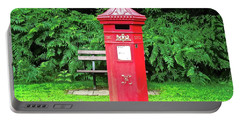 Old Irish Mailbox Portable Battery Charger by Stephanie Moore