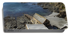 Portable Battery Charger featuring the photograph Old Lifeboat Station by Brian Roscorla