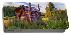 Old Lumber Mill Cabin Portable Battery Charger