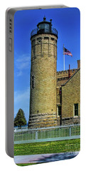 Old Mackinac Lighthouse Portable Battery Charger