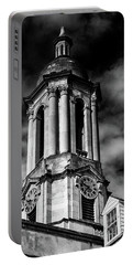 Old Main Black And White Portable Battery Charger