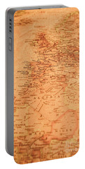 Old Maritime Map Portable Battery Charger