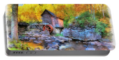 Old Mill Aquarelle Portable Battery Charger