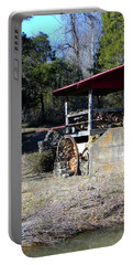 Portable Battery Charger featuring the photograph Old Mill Of Guilford Pumphouse by Sandi OReilly