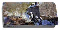 Old Mill On The Tom Tigney River, Nova Scotia Portable Battery Charger