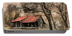 Old Mountain Cabin Portable Battery Charger