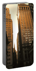 Old New York Wall Street Portable Battery Charger