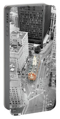 Old State House Portable Battery Charger by Greg Fortier