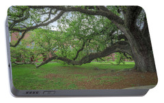 Portable Battery Charger featuring the photograph Old Oak Tree by Gregory Daley  PPSA