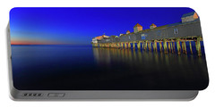 Old Orchard Beach Pier At Sunrise Portable Battery Charger