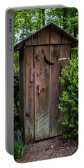 Old Outhouse Portable Battery Charger