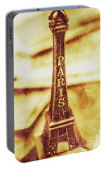 Old Paris Decor Portable Battery Charger by Jorgo Photography - Wall Art Gallery