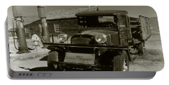 Old Pickup Truck 1927 - Vintage Photo Art Print Portable Battery Charger
