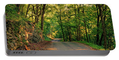 Portable Battery Charger featuring the photograph Old Plank Road by Cricket Hackmann