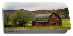 Old Red Adirondack Barn Portable Battery Charger