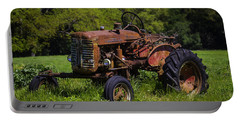Old Red Tractor Portable Battery Charger