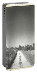 Portable Battery Charger featuring the photograph Old Road, Old Time by Carolina Liechtenstein
