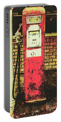 Old Roadhouse Gas Station Portable Battery Charger