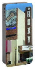Old Roxy Theater In Muskogee, Oklahoma Portable Battery Charger