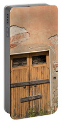 Old Rustic Italian Door Portable Battery Charger