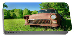 Old Rusty Car Portable Battery Charger