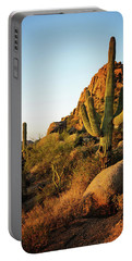 Old Saguaro Cactus Portable Battery Charger
