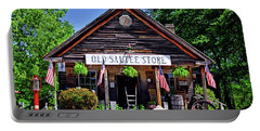 Old Sautee Store - Helen Ga 004 Portable Battery Charger