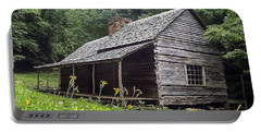 Old Settlers Cabin Smoky Mountains National Park Portable Battery Charger