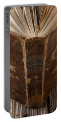 Old Shakespeare Book Portable Battery Charger