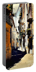 Old Spanish Street Portable Battery Charger
