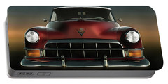 Old-timer Cadillac Convertible Portable Battery Charger