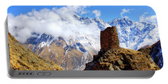 Portable Battery Charger featuring the photograph Old Tower by Fabrizio Troiani