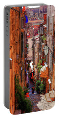 Old Town Dubrovniks Inner Passages Portable Battery Charger
