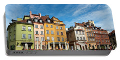 Portable Battery Charger featuring the photograph Old Town Warsaw by Chevy Fleet