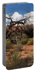 Old Tree In Capital Reef National Park Portable Battery Charger